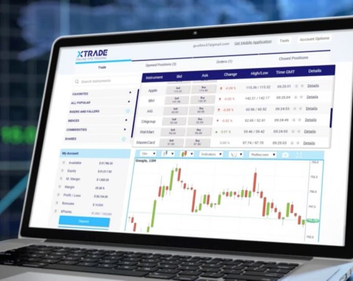 What are the accounting options that are followed in Xtrade platform?